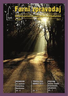 1/2015 - Farnost Rožnov pod Radhoštěm