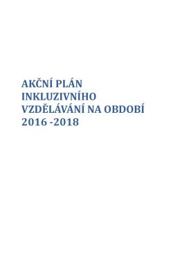 Akční plán inkluzivního vzdělávání 2016 - 2018
