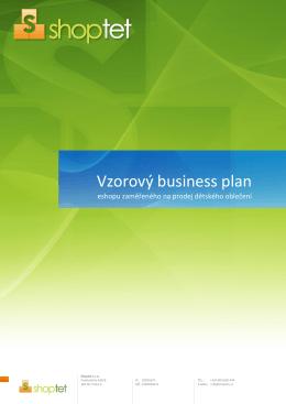 Vzorový business plán