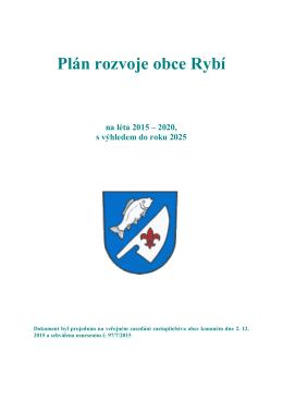 Plán rozvoje obce Rybí