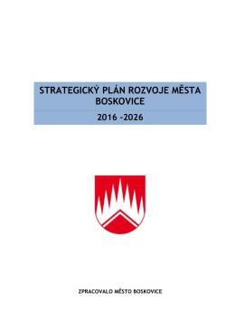 Strategického plánu města Boskovice 2016-2026