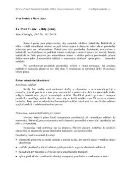 Le Plan Blanc (Bílý plán)