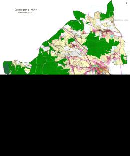 Územní plán STACHY A B