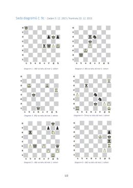 Sada diagramů č. 9c - Zadání 3. 12. 2015 / Kontrola 10. 12. 2015