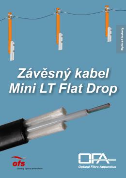 Závěsný kabel Mini LT Flat Drop