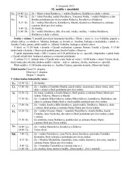 Ohlášky 08.11.2015 - Farnost Újezd u Valašských Klobouk