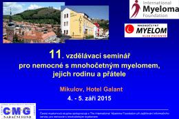 Úvod (prof. MUDr. Roman Hájek, CSc.)