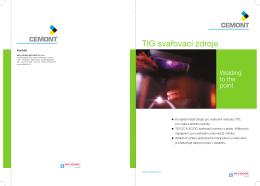 TIG svařovací zdroje - AB technika pro svařování