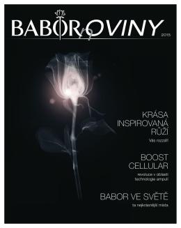 BABOR Noviny 2015