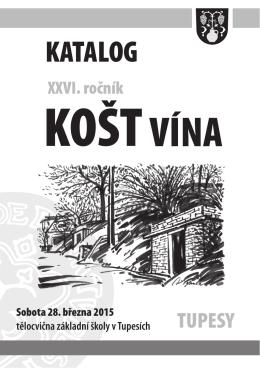 Katalog – košt vína 2015 – ve formátu pdf