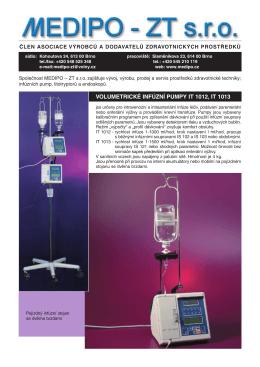 Prospekt Zdravotnická technika - Medipo
