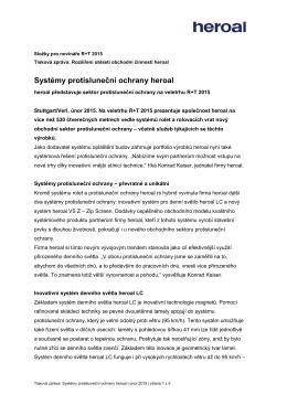 Systémy protisluneční ochrany heroal