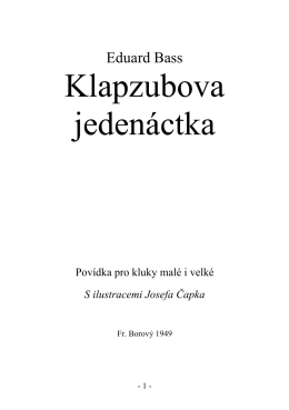 Klapzubova jedenáctka (770591)