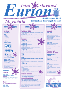 Eurion 2015 plakát