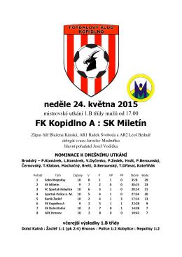 Bulletin z 24.05.2015