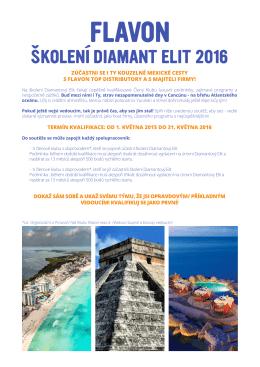 ŠKOLENÍ DIAMANT ELIT 2016
