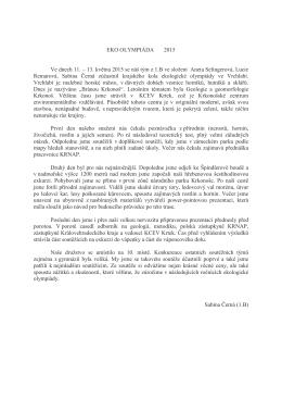 EKO OLYMPIÁDA 2015 (2)