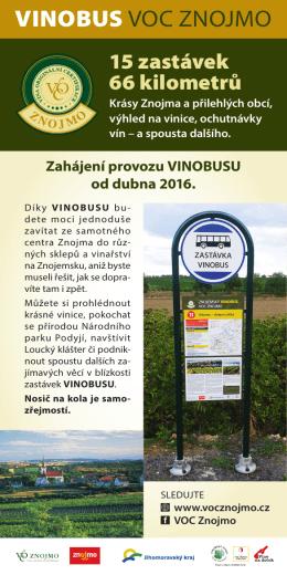 VINOBUS VOC ZNOJMO - Vinařství VINO HORT
