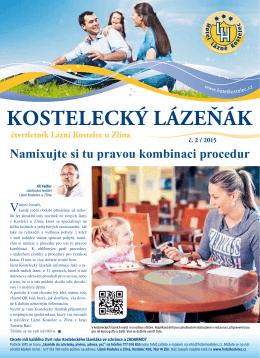 Kostelecký lázeňák 02/2015