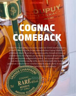 Cognac comeback