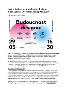 18.5.2015 TZ Budoucnost obalového designu