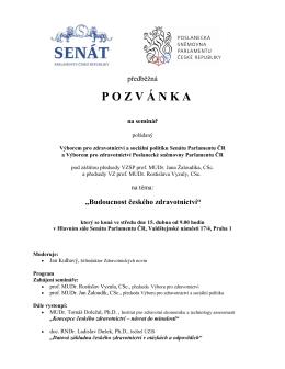 Budoucnost českého zdravotnictví