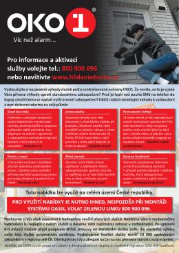 nebo navštivte 800 900 096 www.hlidanizdarma.cz