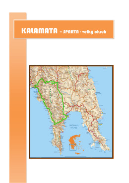 KALAMATA – SPARTA - velký okruh