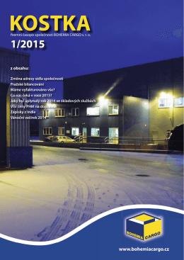 kostka-1-2015 - Bohemia Cargo