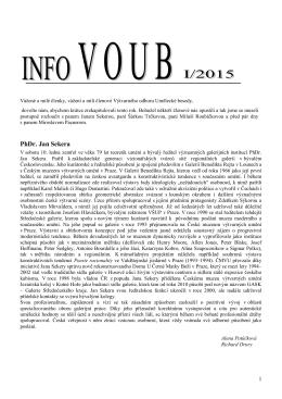 Info - VOUB - 2015 - II