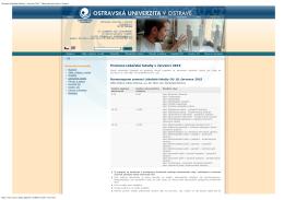 Promoce absolventů Lékařské fakulty OU