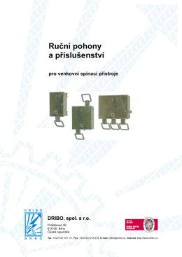 Katalog produktu - dříve dodávané provedení
