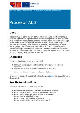 Procesor ALG