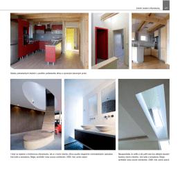 Interiér moderní dřevostavby 127 Ukázky jednoduchých interiérů s