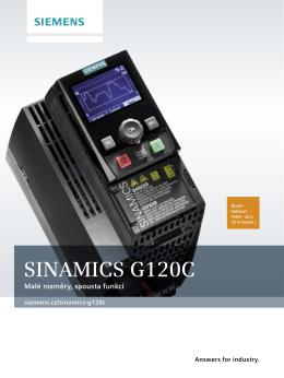 Prospekt Sinamics G120C