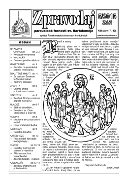 pardubické farnosti sv. Bartoloměje - petras