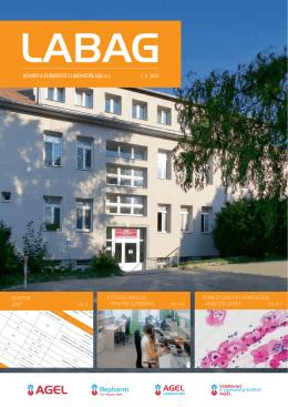 NOVINKY A ZAJÍMAVOSTI Z LABORATOŘE AGEL a.s. č. 4 2015