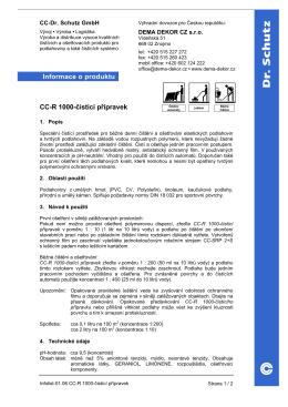 Technický list TL-CC-R-1000-cistici-pripravek