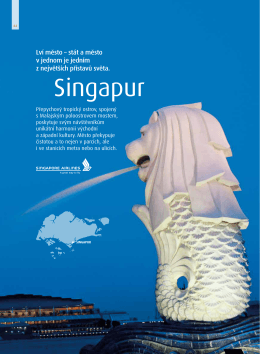 Singapur - Blue Sky Travel