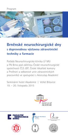 Program BNB 2015 - Fakultní nemocnice Brno