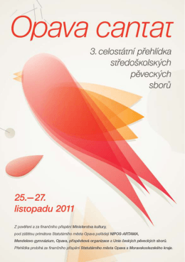 Bulletin 3. ročník , 2011