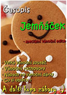 Vánoční Jemňáček - základní škola v jemnici