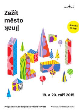 Tištěný program 2015
