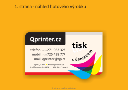 tisk tisk - Qprinter