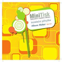Album Maker - minieshop.cz