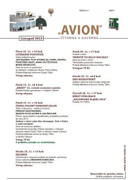 Program ke stažení - listopad 2015
