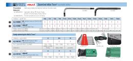 Zástrčné klíče Torx® normální délka 62 4800 62 4810 - extra