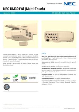 NEC UM301Wi (Multi