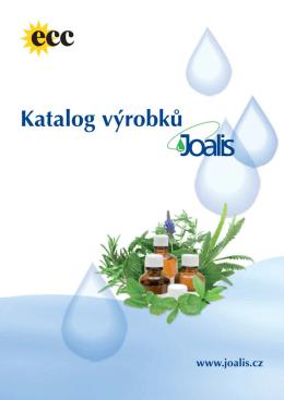 Katalog produktů Joalis ke stažení.