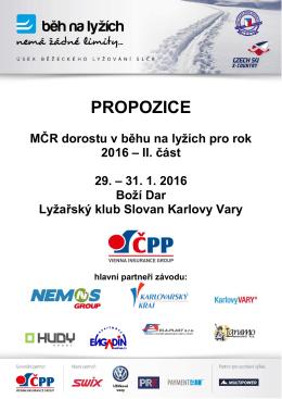 Propozice - dorost - SK SKOL Brno